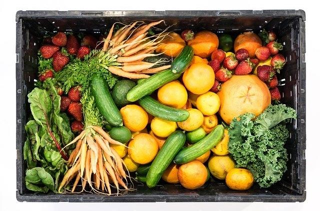 een gezonde maaltijd box